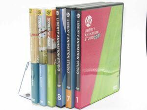 E9-8 DVD LAS animation Studio staff room SHOW REEL show reel 6 sheets image production demo CM work CM advertisement materials