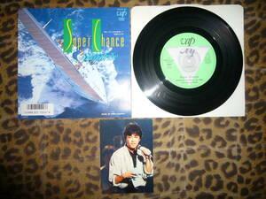 即決EP 1986オメガトライブ OMEGA TRIBE カルロス・トシキ ♪Super Chance / Navigator 「スーパーフジカラー」CM曲 ※生写真付き
