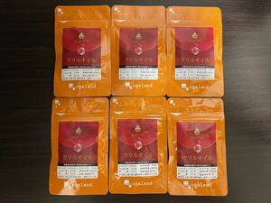オーガランド ogaland「クリルオイル 30カプセル」6袋(合計約6ヶ月分) サプリ サプリメント