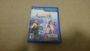 Vita ファイナルファンタジー 10 HD Remaster X 北米版 海外版 中古