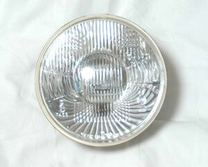 LUCAS ルーカス ヘッドライト 180φ 凸レンズ H4E 未使用新古品 SR400 ボンネビルT100 ロイヤルエンフィールド TX650