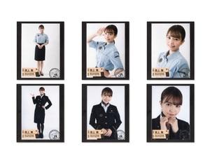 HKT48 渕上舞 生写真 6種コンプ JR九州 みんなの九州プロジェクト コラボ商品