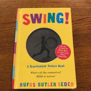 英語版 ルーファス・バトラー セダー スウィング! (しかけえほん) しかけ絵本 英語 絵本 洋書 Butler