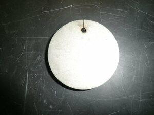 ステンレス304 NO1 約8mm厚 円板 約Φ112mm(直径) 1枚