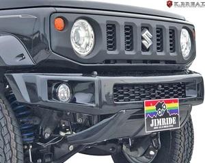 【M's】スズキ JB64 ジムニー (2018y-) K.BREAK JIMRIDE フロントショートバンパー // Kブレイク 未塗装 64ジムニー エアロ パーツ 外装