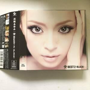 帯付きです☆☆浜崎あゆみ『A BEST 2 BLACK』初回限定盤CD+2DVD☆☆