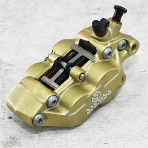 ヤマハ RZ250 4L3 美品 40mm ピッチ brembo ブレンボ フロントブレーキ キャリパー 【A】AZF