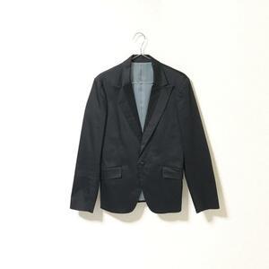 ★ユナイテッドアローズ ブルーレーベル UNITED ARROWS★メンズ 1B テーラード ジャケット スーツジャケット 黒 ブラック size M 管:B:3