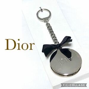 【未使用 箱付き】Dior ディオール バックフック バッグチャーム キーチャーム キーリング