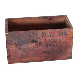 木箱 ウッドボックス ヴィンテージ スチール 収納箱 ディスプレイ ニューヨーク 店舗什器 インダストリアル アンティーク