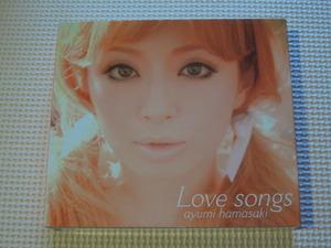 送料無料 CD 浜崎あゆみ Love songs CD+DVD