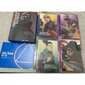 NARUTO疾風伝 不死の破壊者 1~4 DVD BOX