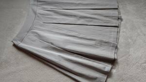 INDIVI インディヴィ スカート グレージュ 未使用 38 Mサイズ 清楚 上品 パーティー 華やか