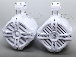 【即納】250W 6.5インチ 防水ウェイクタワースピーカー 防水マリンスピーカー ボート エアロギア AG21 防水スピーカー 管理番号[UH0181]