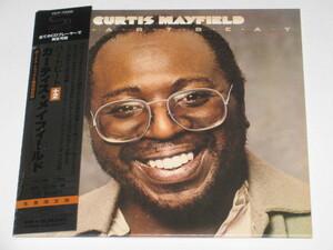 CD カーティス・メイフィールド(Curtis Mayfield)『ハートビート +2 (Heartbeat)』生産限定盤/高音質SHM-CD/帯付/紙ジャケット仕様