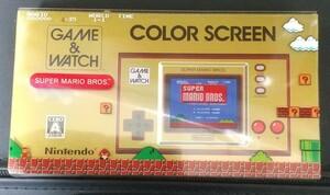【新品】 ゲーム&ウォッチ スーパーマリオブラザーズ Nintendo 任天堂 ゲームボーイカラー