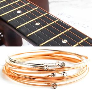【新品】6個 純銅 弦 1-6 クラシック クラシックギター 弦 鋼線 クラシック アコースティック フォーク ギターパーツ アクセサリー