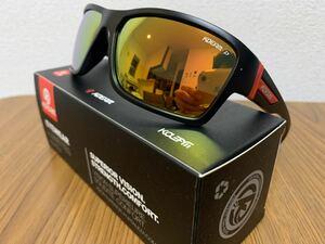 新品未使用♪kdeam最新偏光レンズサングラス イエローミラーレンズ 即購入可!
