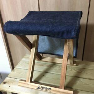 EDWIN アウトドアチェアー FDスツール 椅子 折り畳み椅子
