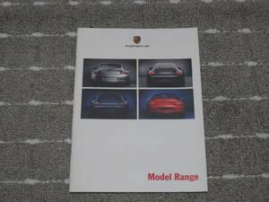 ★【希少】2000年 PORSCHE ポルシェ Model Range 日本語版 カタログ 911 カレラ ボクスター☆★