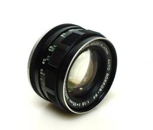 ★MINOLTA(ミノルタ)◆ AUTO ROKKOR-PF 1:1.8 f=55mm ●実用・良品