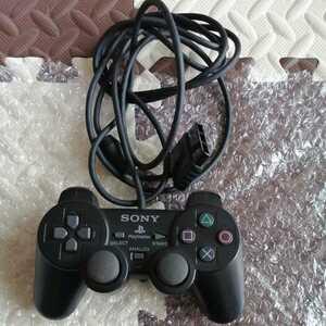 美品 SPCH-10010 PS2 純正コントローラー ブラック 黒 DUALSHOCK 2 SONY 動作確認済み デュアルショック2 プレステ2 即決  送料無料