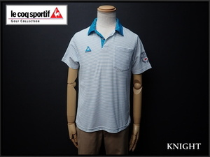 送料無料 le coq sportif GOLF COLLECTION ポロシャツ・M◆ルコック ゴルフ/ドライ/21*3*3-29
