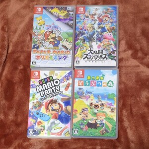 Nintendo Switch ニンテンドースイッチソフト 大乱闘スマッシュブラザーズ スマブラ 他