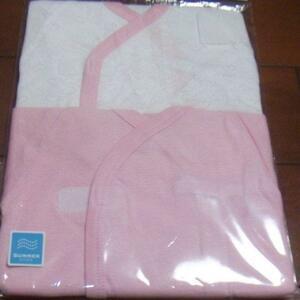 新品 カバーオール肌着 ピンク ハート 2枚組 サイズ50~60 198円発送可 切手可