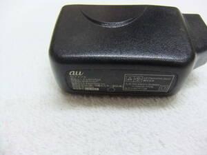 au 純正 共通 ACアダプタ 充電器のみ 送料140円