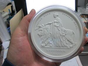 わずか99枚発行2019年イギリスオルダニーウナライオンマットプルーフ1kg銀貨