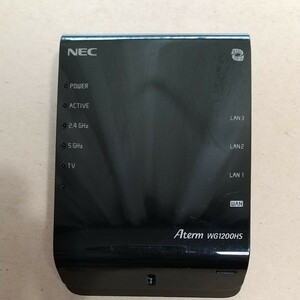 NEC Aterm WG1200HS WiFiホームルーター 867Mbps(5GHz帯)+300Mbps(2.4GHz帯)