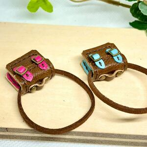 革細工 マイクロかばん 一つ miniature bag.