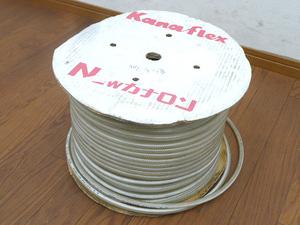 未使用品 カナフレックス 工業用 ホース NEWカナロン ① φ4 4×9mm 長さ 約57m 樹脂 農業 工業 土木建設 排水用 チューブ 透明 Kanaflex