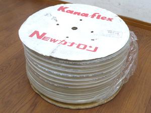未使用品 カナフレックス 工業用 ホース NEWカナロン ② φ10 10×15mm 長さ 約90m 樹脂 農業 工業 土木建設 排水用 チューブ Kanaflex