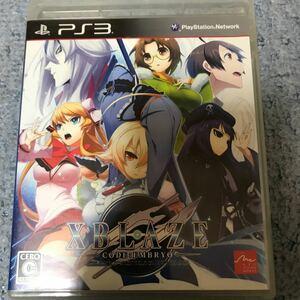 【PS3】 XBLAZE CODE:EMBRYO (エクスブレイズ コード:エンブリオ)