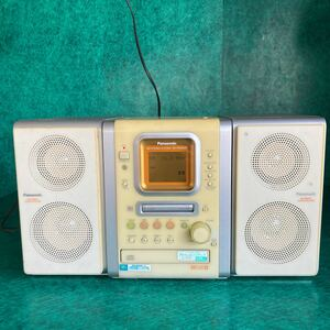 Panasonic パナソニック MDステレオシステム SA-PM35MD CD MD FM AM カセット システム コンポ チューナーコンポ/高音質/2000年製