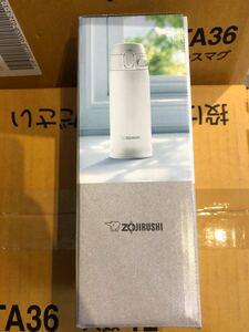 象印ZOJIRUSHI 水筒 360ml ホワイトSM-TA36-WA ステンレスマグ