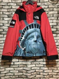 ★SUPREME×THE NORTH FACE シュプリーム×ザ・ノースフェイス★19AW Statue of Liberty Mountain Jacket自由の女神マウンテンジャケット