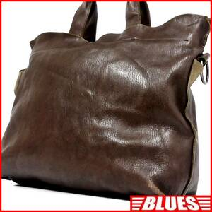 即決★Ren★オールレザートートバッグ レン メンズ 茶 本革 ハンドバッグ 本皮 かばん トラベル 手提げバッグ レディース 手提げバッグ