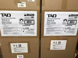 TAD Evolution one TAD-E1-K 新品未使用 未開封 3ウェイ位相反転式フロア型 ピアノブラックモデル