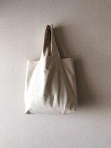 *handmade シンプルトートバッグ :: きなり