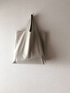 *handmade シンプルトートバッグ ::きなり