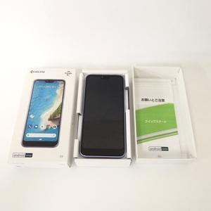 SIMフリー Android One S6 ラベンダーブルー Y!mobile SIMロック解除 安心の判定〇 未使用品 /2103G