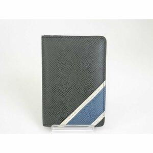 美品 ルイ・ヴィトン LOUIS VUITTON オーガナイザー ドゥポッシュ タイガ ストライプ M64017 パスケース カードケース w143705