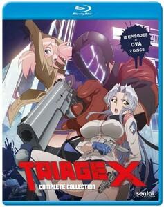 【送料込】トリアージX 全10話+OVA (北米版 ブルーレイ) Triage X blu-ray BD