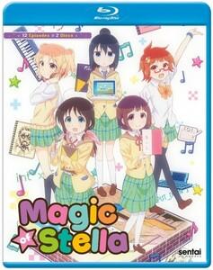 【送料込】ステラのまほう 全12話(北米版 ブルーレイ) Magic Of Stella blu-ray BD