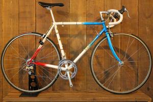 3連勝 3RENSHO オーダーフレーム シマノ 105 1050シリーズ 8s クロモリ ビンテージ ロードバイク コロンバス ホリゾンタル