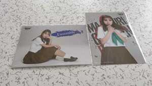 左伴彩佳 AKB48 チーム8 マジムリ学園蕾-RAI- ランダムプロマイド 2種コンプ 生写真