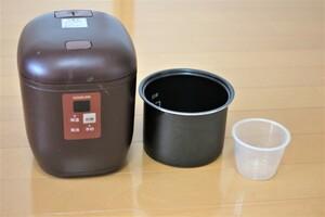 コイズミ 小型炊飯器 ライスクッカーミニ (0.5~1.5合) KSC-1512